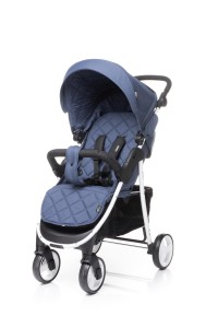 4BABY Wózek spacerowy RAPID Navy Blue
